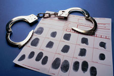 DUI arrest and fingerprints